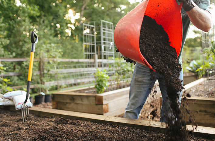 Add Organic Matter to Compost