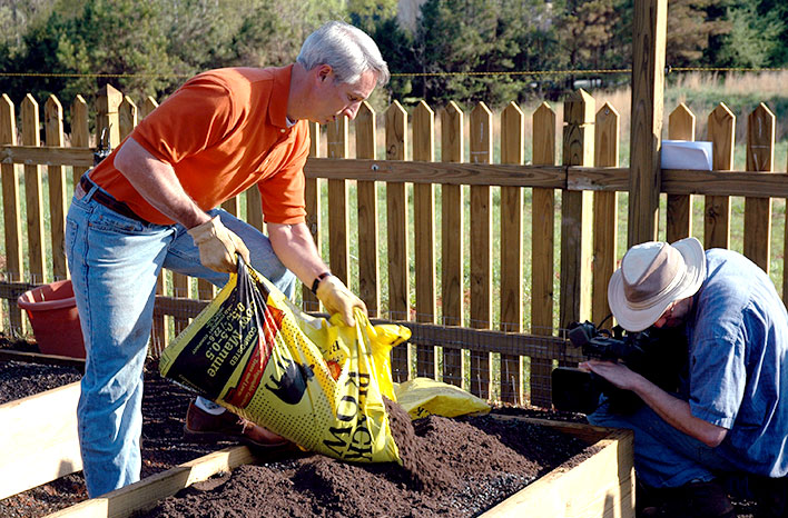 recipe for raised bed garden soil