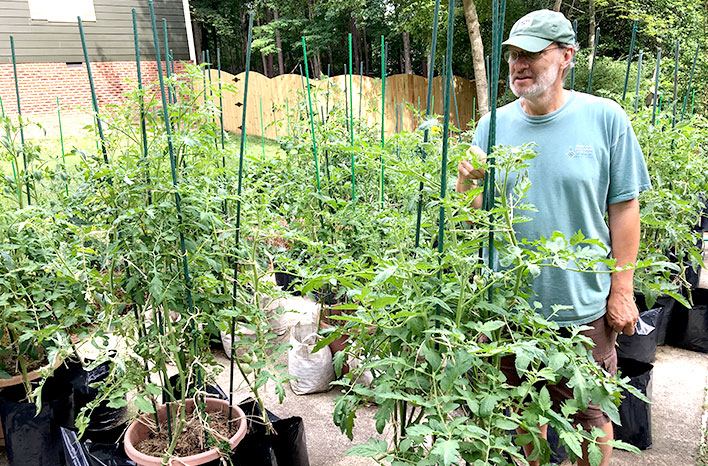 Tomato growing guide, Epic Tomatoes, is based on Craig's years of experience