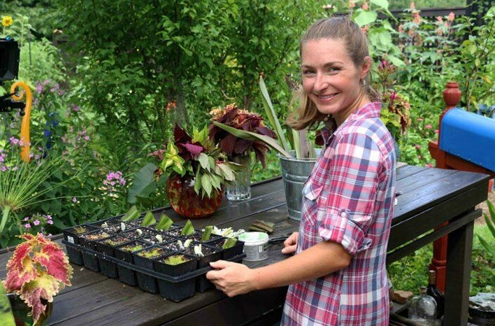 Plant propagation tips from Brie Arthur