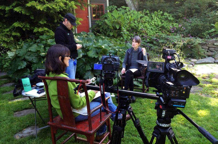 GGWTV crew with Margaret Roach