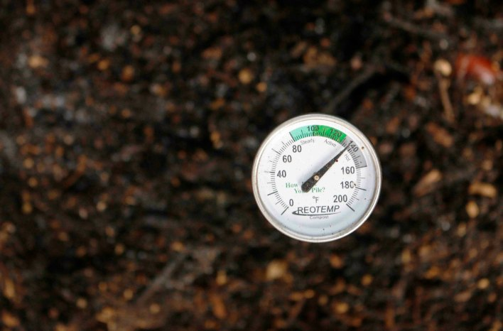 Composting at home - Compost thermometer