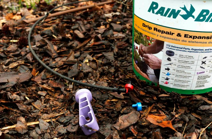 Drip irrigation repair kit from Rain Bird