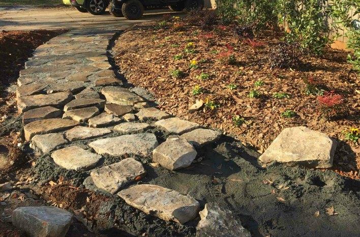 pathway installation