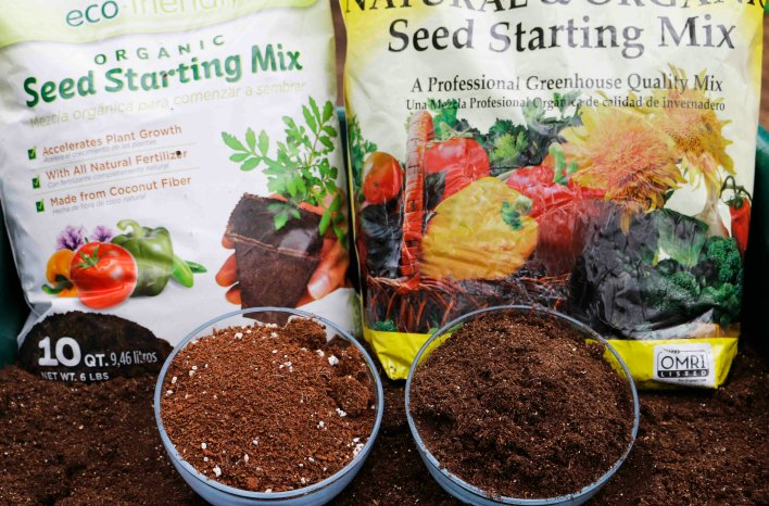 sterile seed starting mix