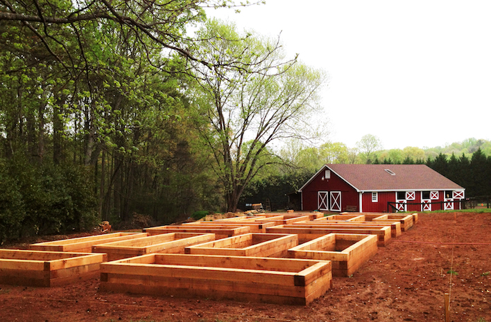 GardenFarm raised beds