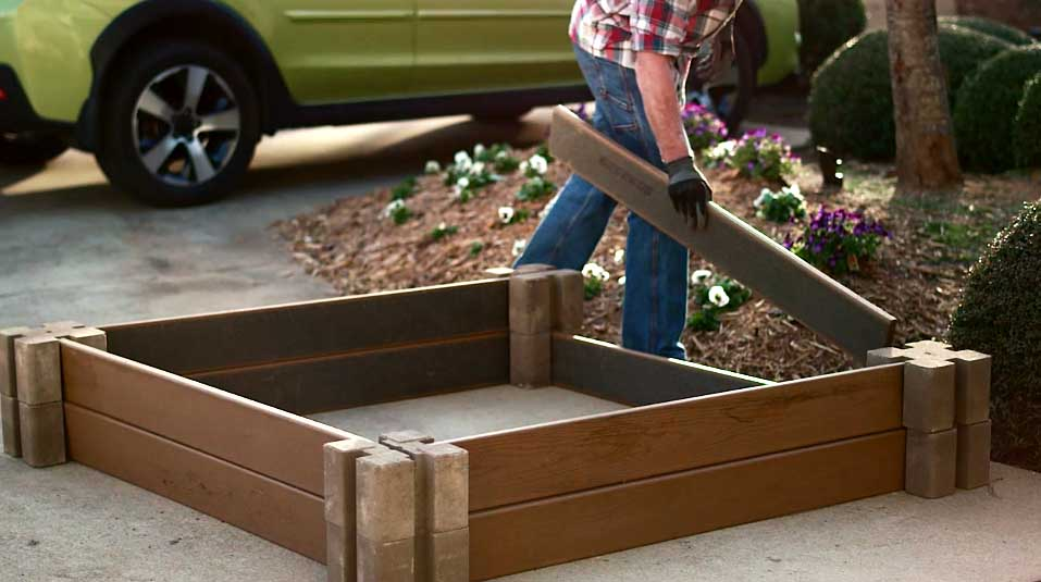 raised garden bed kit - Garden Bed