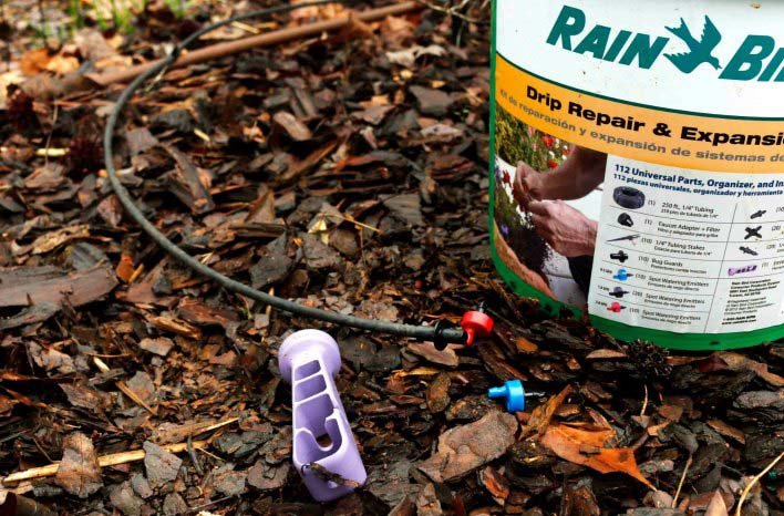 Drip irrigation kit is ideal for waterwise gardening