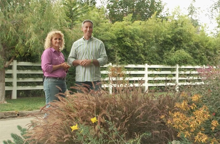Joe Lamp'l & Nan Sterman - experts on waterwise gardening