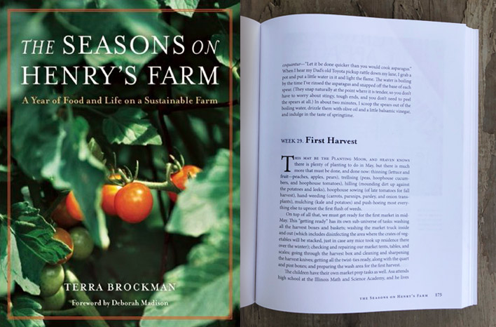The Seasons on Henry's Farm book