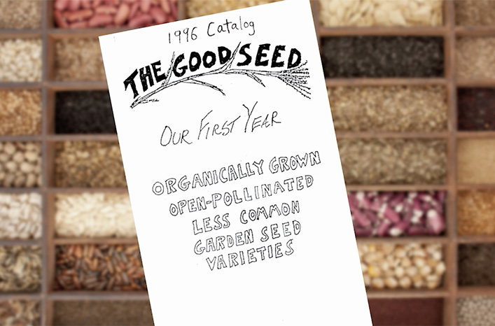 Seed sale flyer High Mowing Organic Seeds