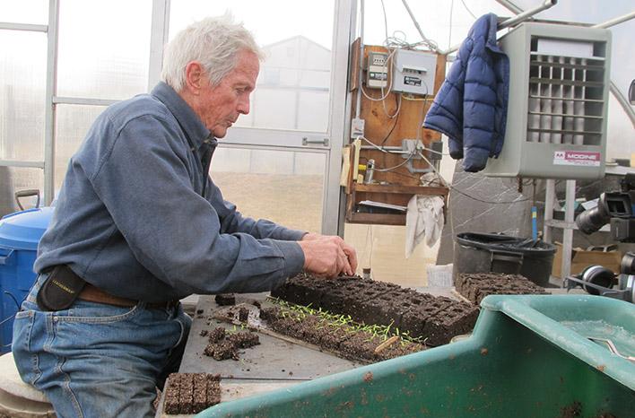 Eliot Coleman organic gardening legend