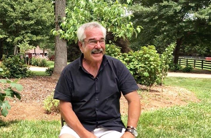 gardening television legend, Paul James