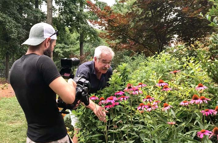 Behind the scenes with Paul James at the GardenFarm
