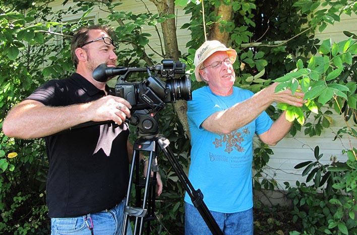 GGW Director Carl Pennington with Doug Tallamy
