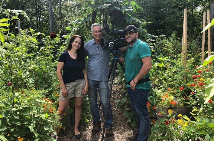 GGWTV crew with Niki Jabbour
