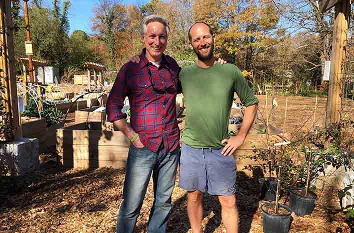 Joe Lamp'l and Rob Greenfield
