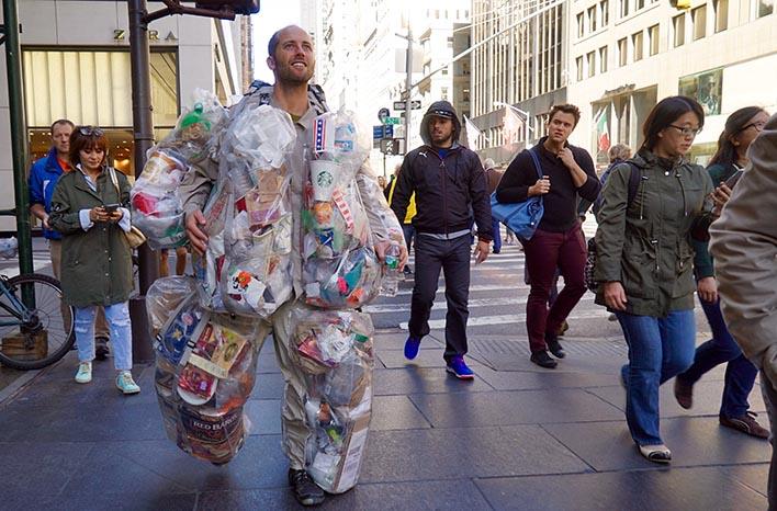 Rob Greenfield's Trash Man Project