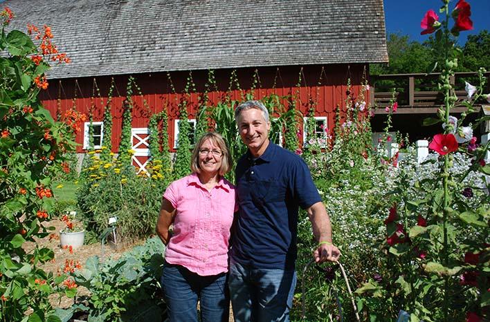 Joe Lamp'l and Dianne Ott Whealy