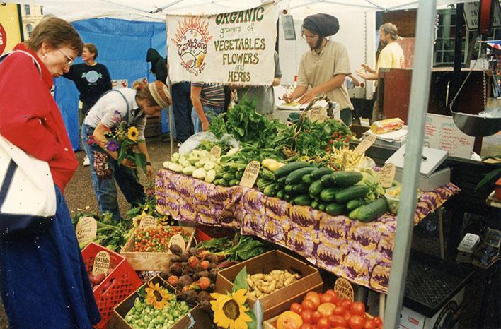 Farmer D market stand