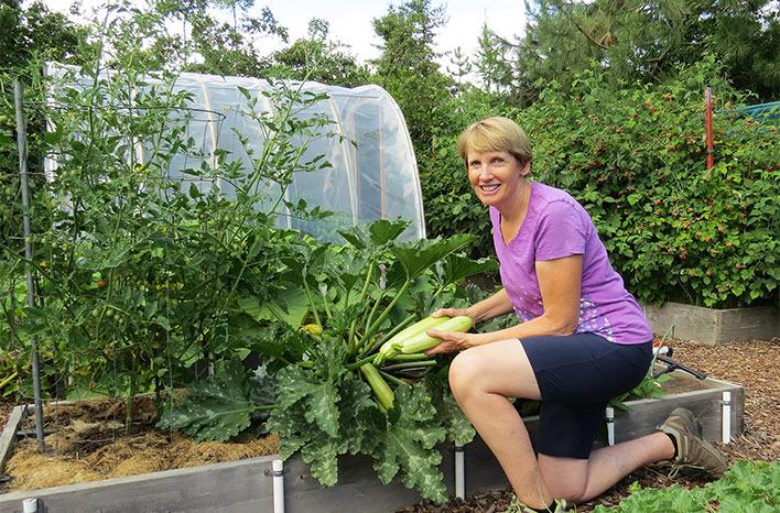Susan Mulvihill in zucchini