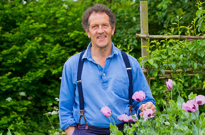 Monty Don at Longmeadow Garden in Herefordshire