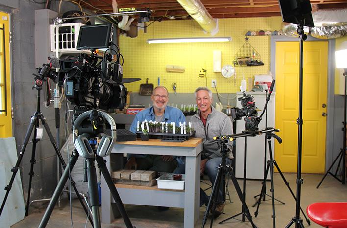Joe and Craig filming